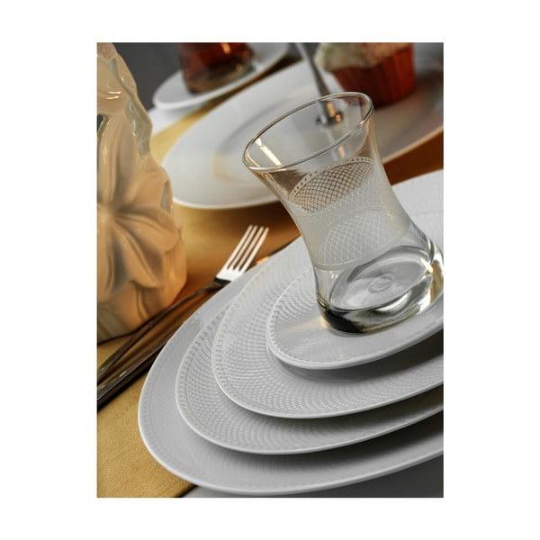 46-dielna porcelánová sada Kutahya Čajový večierok