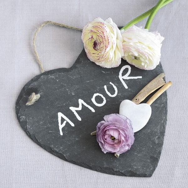 Sklenený obraz Amour, 20x20 cm