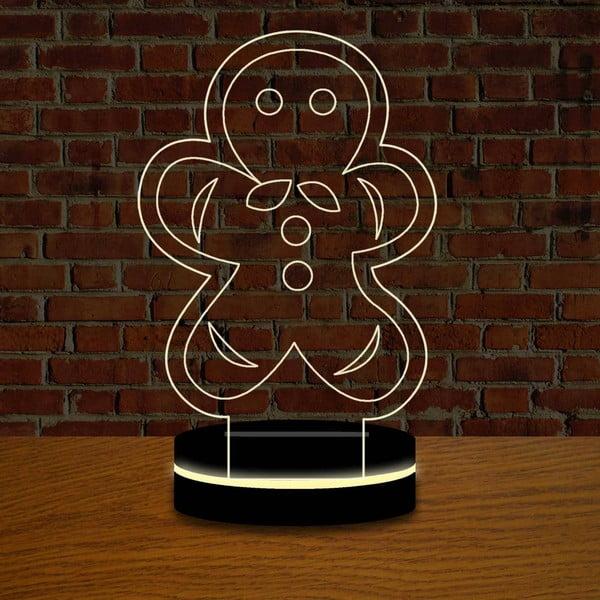 Lampa s 3D efektom Christmas no. 13