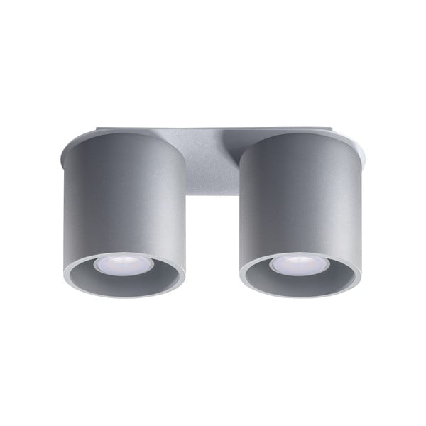 Sivé stropné svetlo Nice Lamps Roda 2