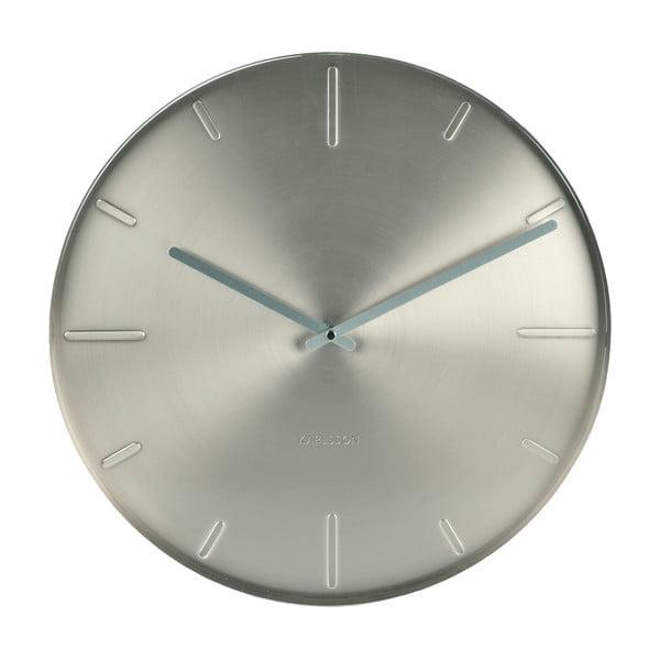 Strieborné hodiny Present Time Belt