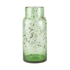 Zelená sklenená váza Villa Collection