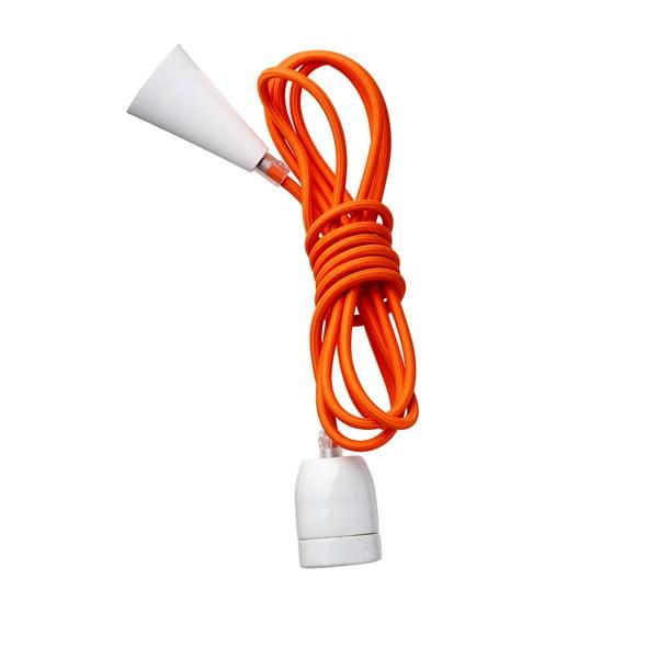 Textilný farebný kábel Kit Naranja
