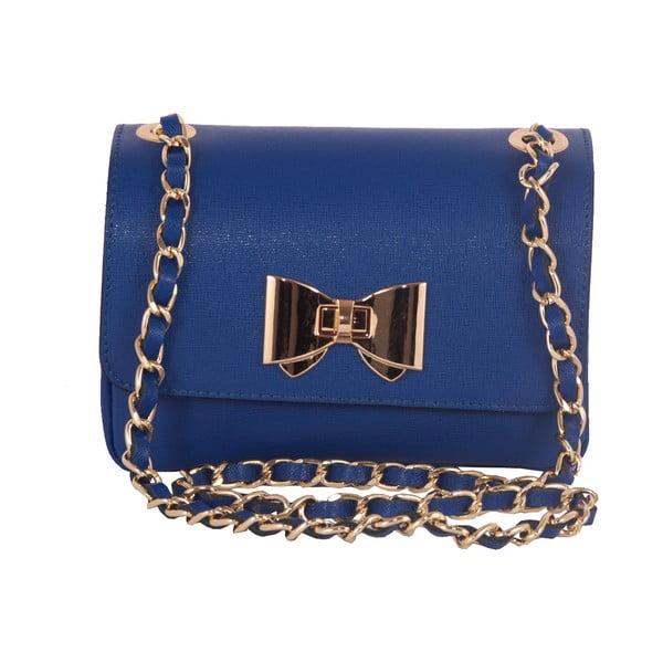 Modrá kabelka z pravé kůže Andrea Cardone Daniela