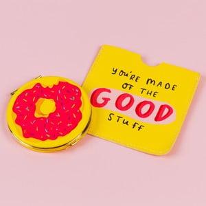 Vreckové zrkadlo s obalom Happy News Good Stuff