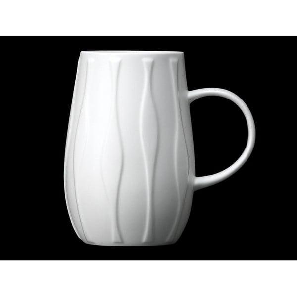 Hrnček z kostného porcelánu Droplet Wave