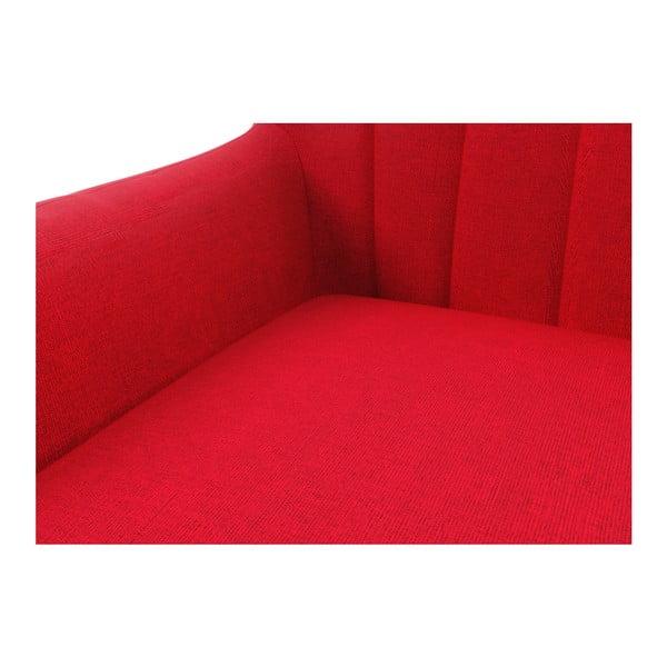 Červená pohovka pre troch Wintech Azzurre