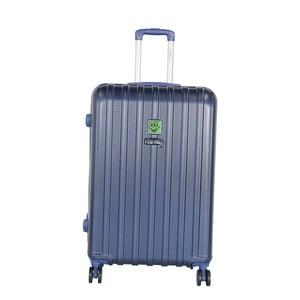 Tmavomodrý cestovný kufor LULU CASTAGNETTE Edge, 107 l