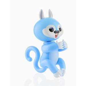 Modrá detská interaktívna veverička s pohybmi a zvukmi InnovaGoods Junior Knows