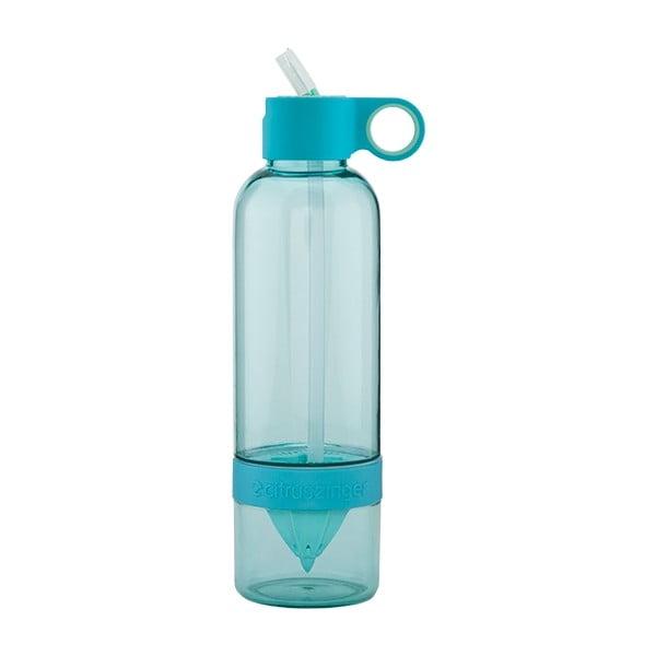 Citruszinger Sport, fľaša na vodu a ovocie, modrá