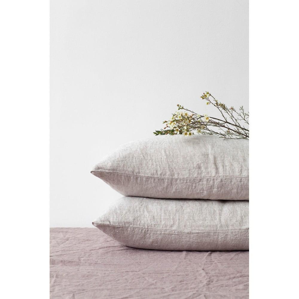 Prírodná ľanová obliečka na vankúš Linen Tales, 70 x 90 cm