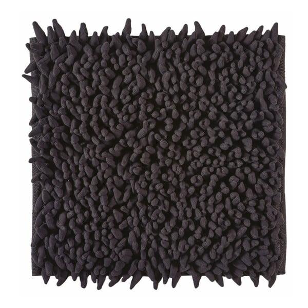 Kúpeľňová predložka Ziza Black, 60x60 cm