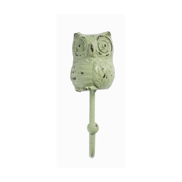 Háčik Owl, zelený