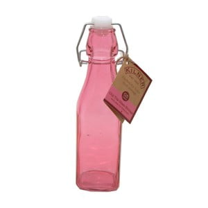 Fľaša s klipom Kilner, 250 ml, ružová