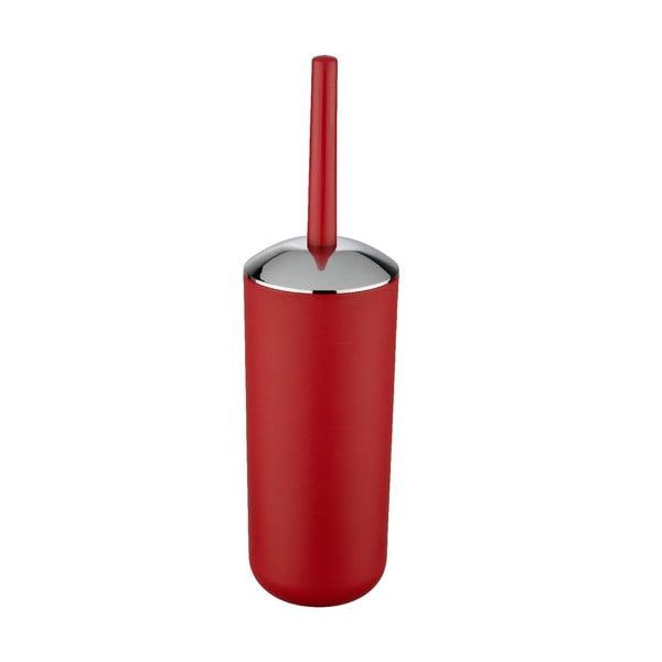 Červená toaletná kefa Wenko Brasil Red