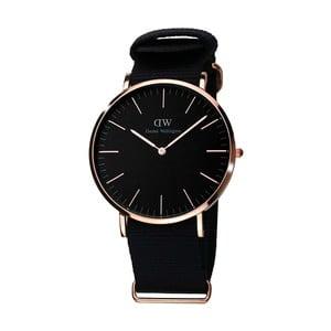 Dámske čierne hodinky Daniel Welington Deedee