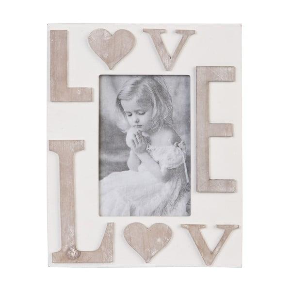 Fotorámček Love 19x24 cm