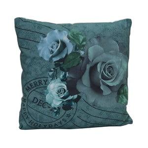 Vankúš Roses Dark, 45x45 cm