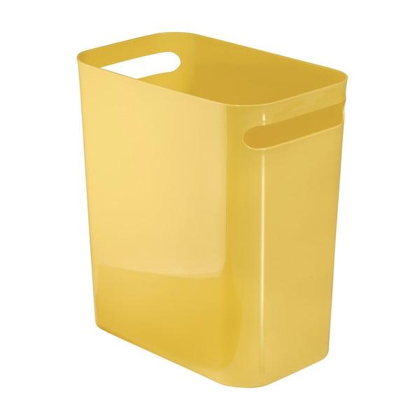 Úložný kôš Una Yellow, 16x28 cm
