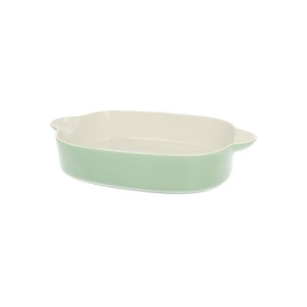 Porcelánová zapekacia misa Duo Gift Pot Green, 35.5 cm