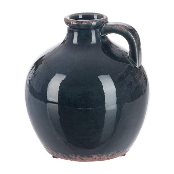 Váza Petrol, výška 18 cm