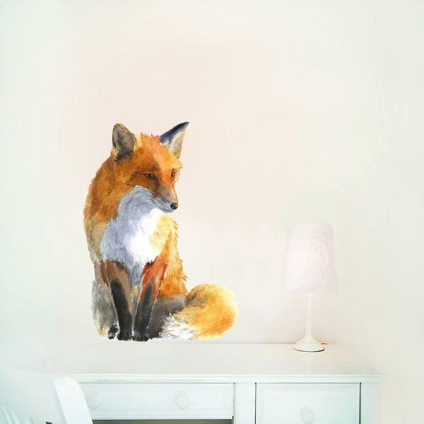 Samolepka na viac použití Fox Small, 42×30 cm