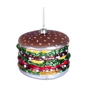 Vianočná závesná ozdoba zo skla Butlers Hamburger