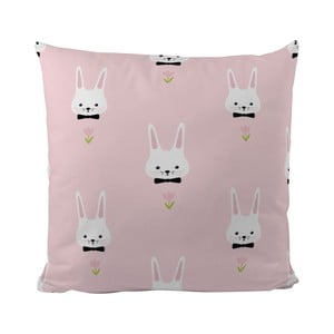 Vankúš Pink Bunnies, 50x50 cm