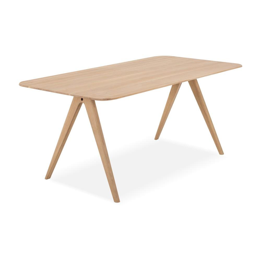 Jedálenský stôl z dubového dreva Gazzda Ava, 180 x 90 cm