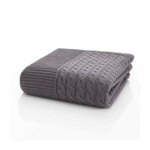 Pletená deka Marvel Light Brown, 130x170 cm
