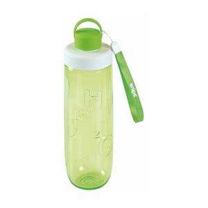 Zelená fľaša na vodu Snips Water, 750 ml