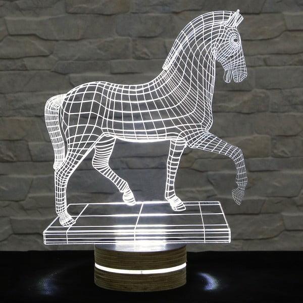 3D stolová lampa Big Horse