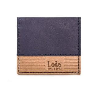 Kožená peňaženka na drobné Lois Blue, 8x7 cm