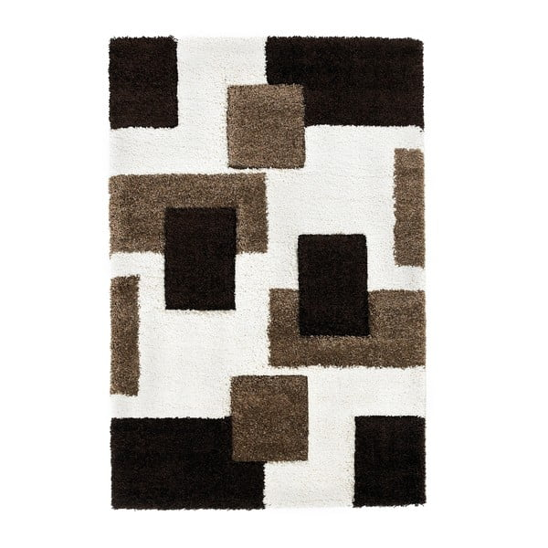Hnedý koberec Think Rugs Fashion Ivory Brown I, 120 x 170 cm