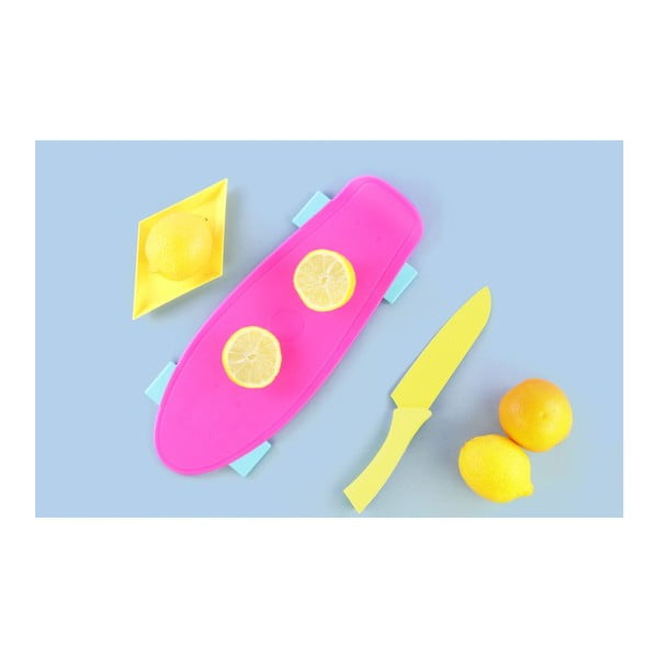 Doska na krájanie Skate Pink