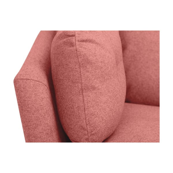 Ružová trojmiestna pohovka Windsor & Co Sofas Comet