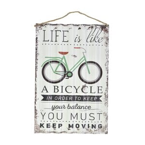 Nástenná ceduľa Bike, 40x60 cm