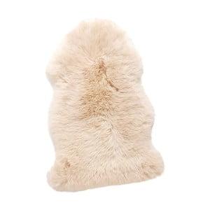 Biela pravá ovčia kožušina Hübsch Mogens