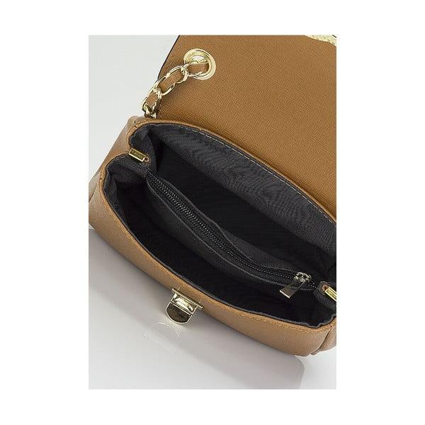 Kožená kabelka Giorgio Costa 15013 Cognac