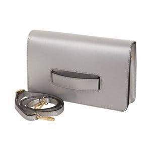 Strieborná kabelka z pravej kože Andrea Cardone