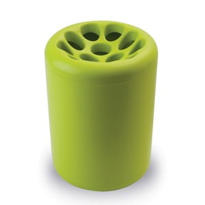 Zelený stojan na dáždniky Qualy&CO Lotus Root