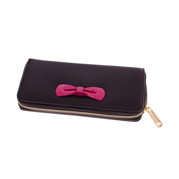 Dámska veľká peňaženka Ladiest, čierna