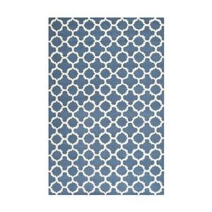 Vlnený koberec Safavieh Bessa 121x182cm, modrý