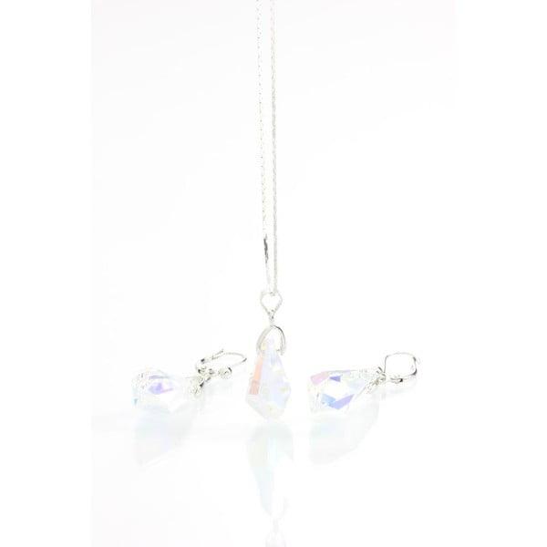 Set náhrdelníka a náušníc so Swarovski krištáľmi Yasmine Simplicity