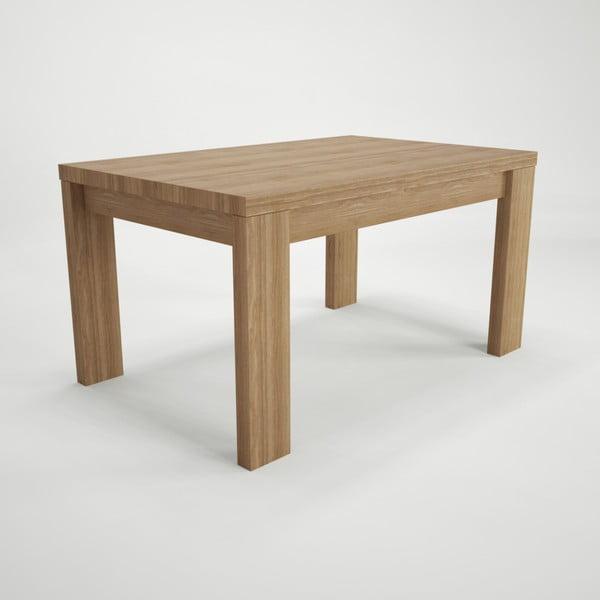 Jedálenský rozkladací stôl z bukového dreva Artemob, 160 × 75 cm