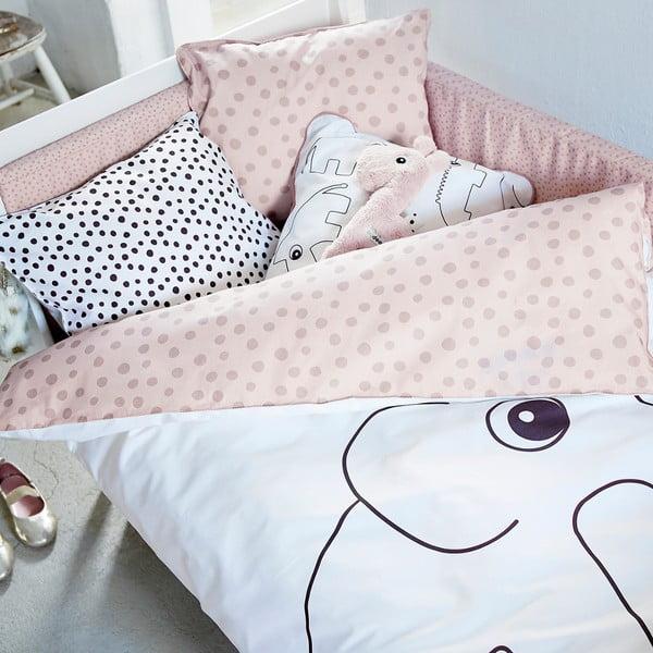 Ružové obliečky Done by Deer Elphee 100x135 cm