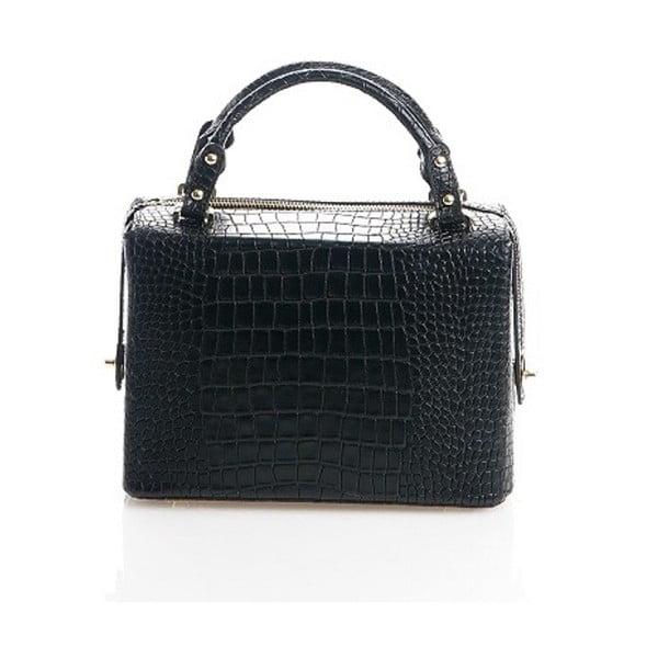 Kožená kabelka Emilie, čierna