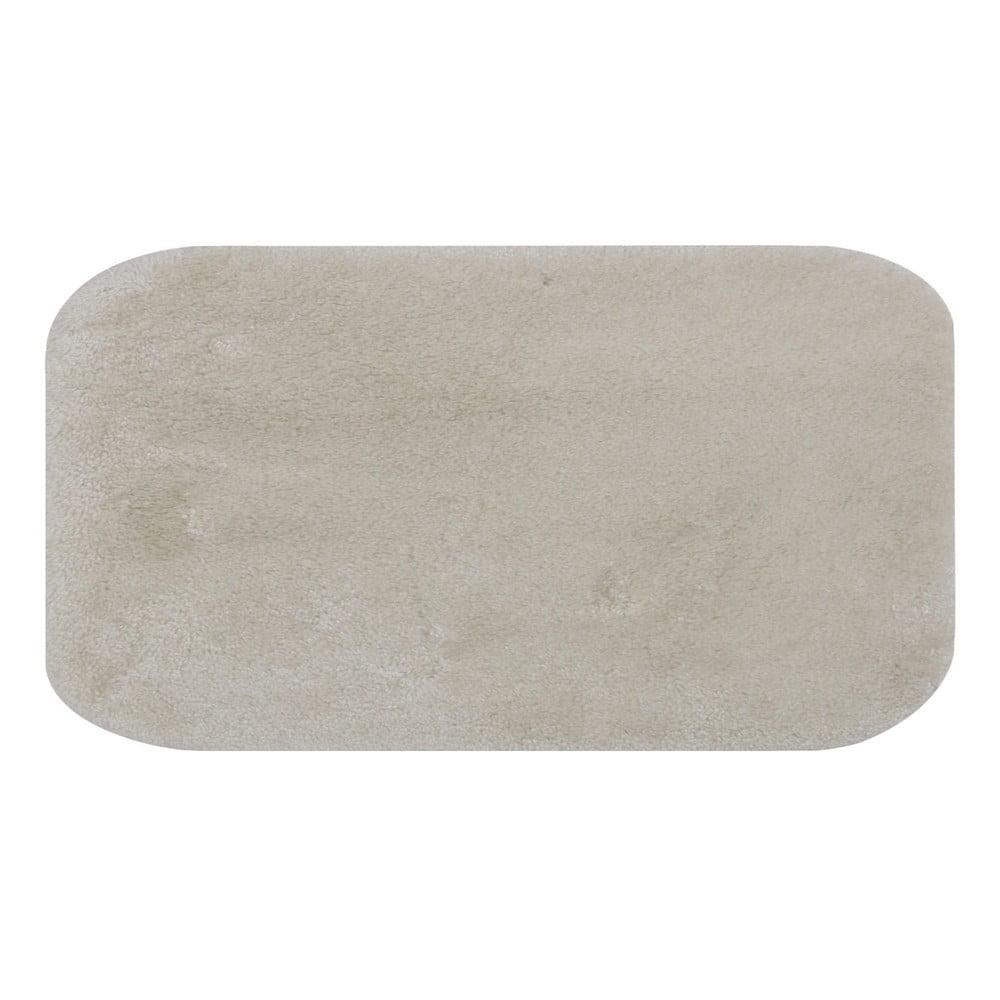 Krémovobiela podložka do kúpeľne Confetti Miami, 67 × 120 cm