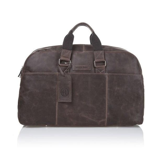 Pánska kožená taška Ferruccio Laconi 101 Brown