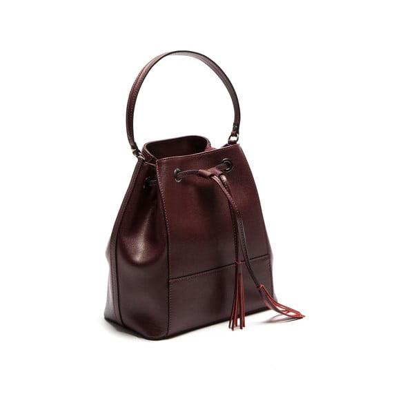Hnedá kožená kabelka Sofia Cardoni Anna